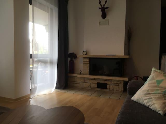 Gemütliche Wohnung top Anbindung an FFM & Wiesbadn - Hattersheim am Main - Apartment