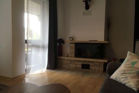 Gemütliche Wohnung top Anbindung an FFM & Wiesbadn - Hattersheim am Main - Apartemen