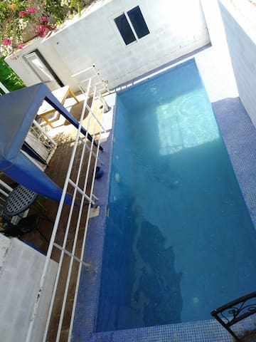 Beautiful suite with private pool next to airport