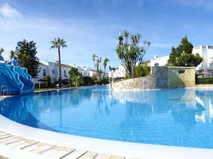 Duplex con piscina Real de La Barrosa