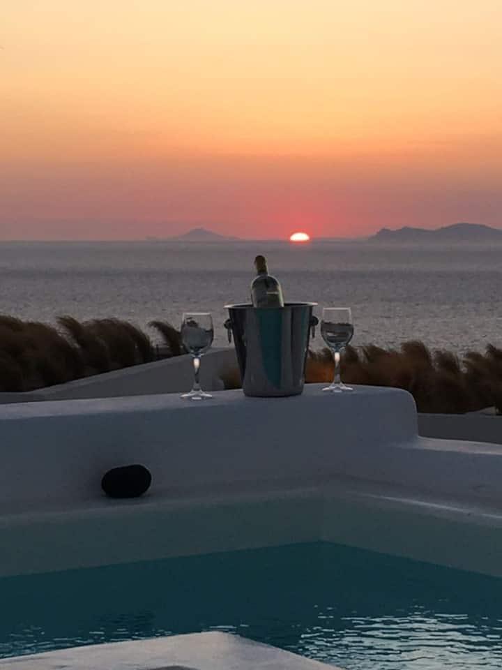 Santolia Art Suites - Superior Suite with Sea View