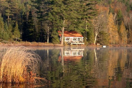 Secluded Cabin on Large Private Pond