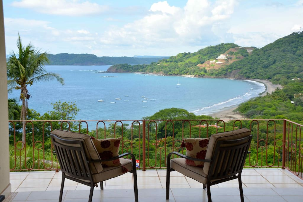 Great views of Peninsula Papagayo and Playa Hermosa f