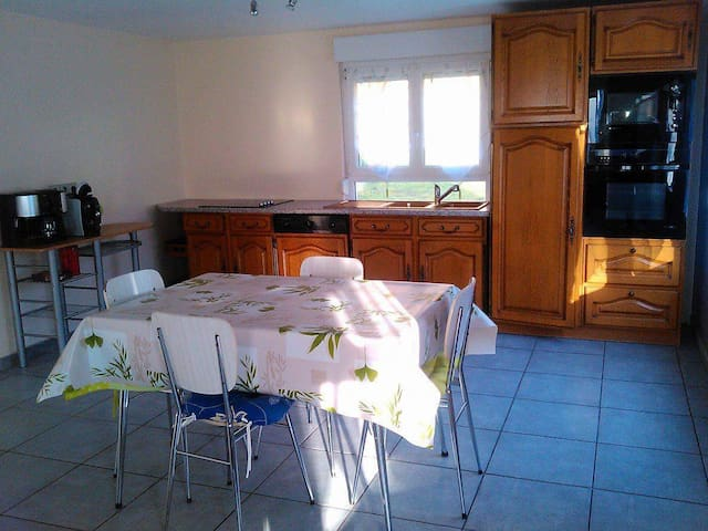 Appartement 60m2 au coeur de la nature