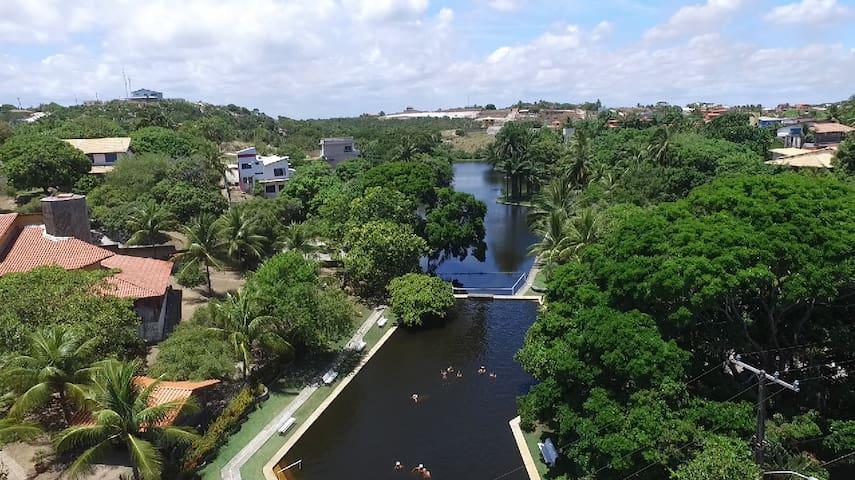 Paradisiac Tropical Beach House - Bahia/Brazil - Camaçari - Hus