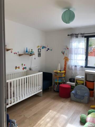 Chambre de bébé en rdc