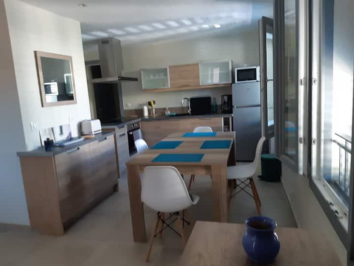 T2 NEUF 50 m²  Prestation++ Très Calme Tout à Pied