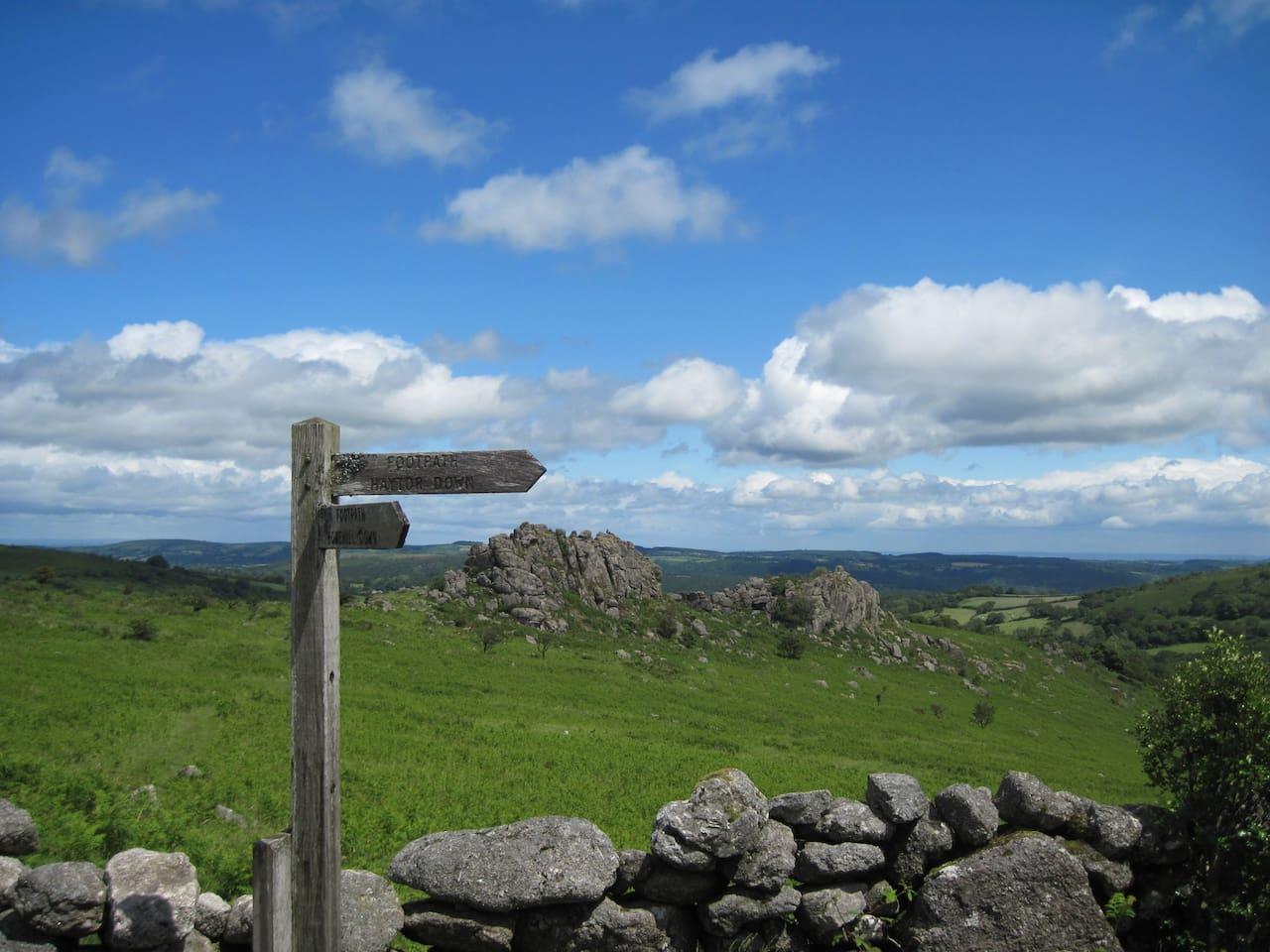 Dartmoor is just a short drive away