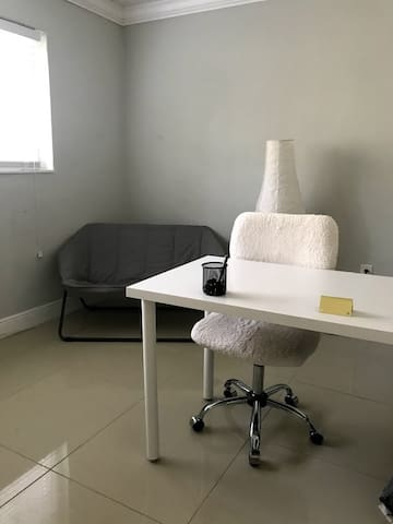 Office Space in Quiet and Clean Apt For Rent
