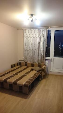 Уютная комната в Санкт-Петербурге - Sankt-Peterburg - Bed & Breakfast