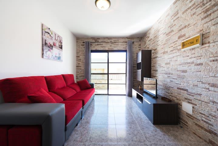 apto. ideal para familias en playa - Arinaga - Apartamento