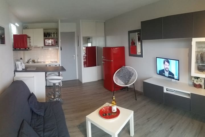 Appartement Capbreton/Hossegor wifi/parking