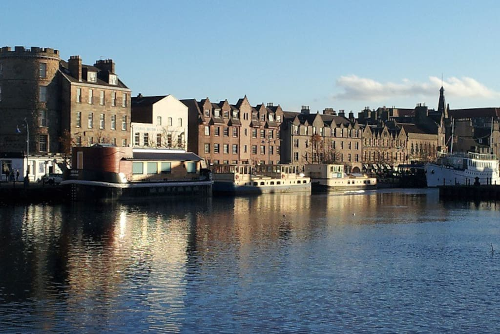 Leith water front