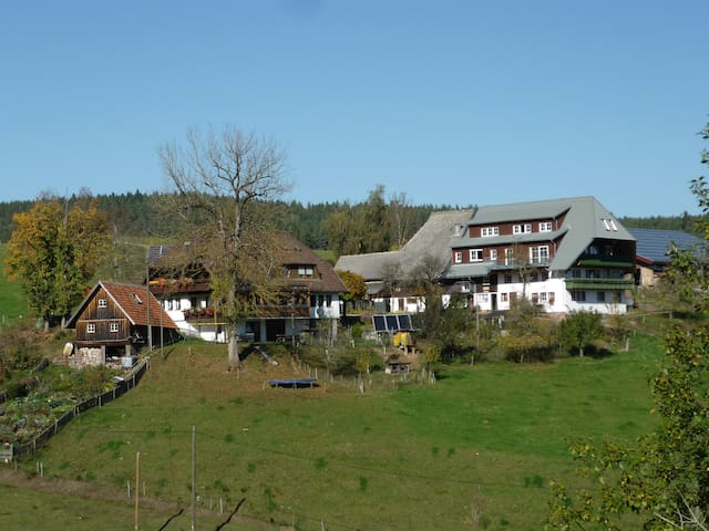 Holiday apartment on our farm in the Black Forest