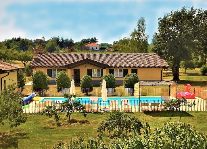 Le 16 Querce: VILLA-Private Pool Garden Park-Wifi