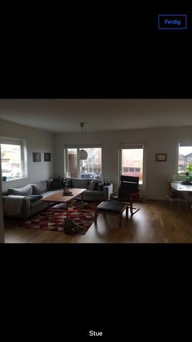 Lys og fin leilighet på Nærbø