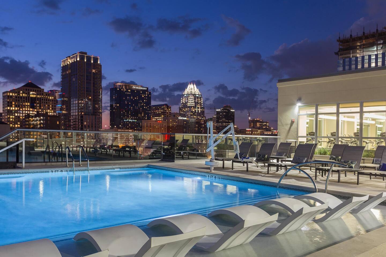 Pool Area City View