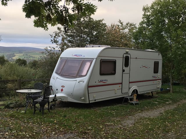 Double Caravan in Rural-Retreat-Moorland Location!