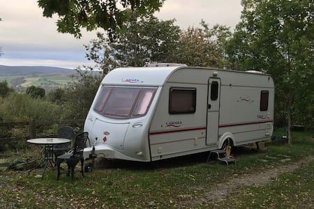 Double Caravan in Rural-Retreat-Moorland Location!
