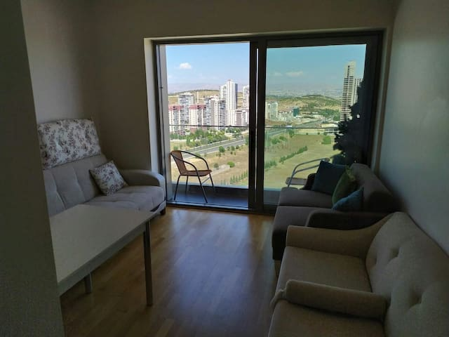 Clean and nice flat next to Baskent University