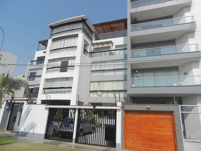 El mirador de San Borja - Distrito de Lima