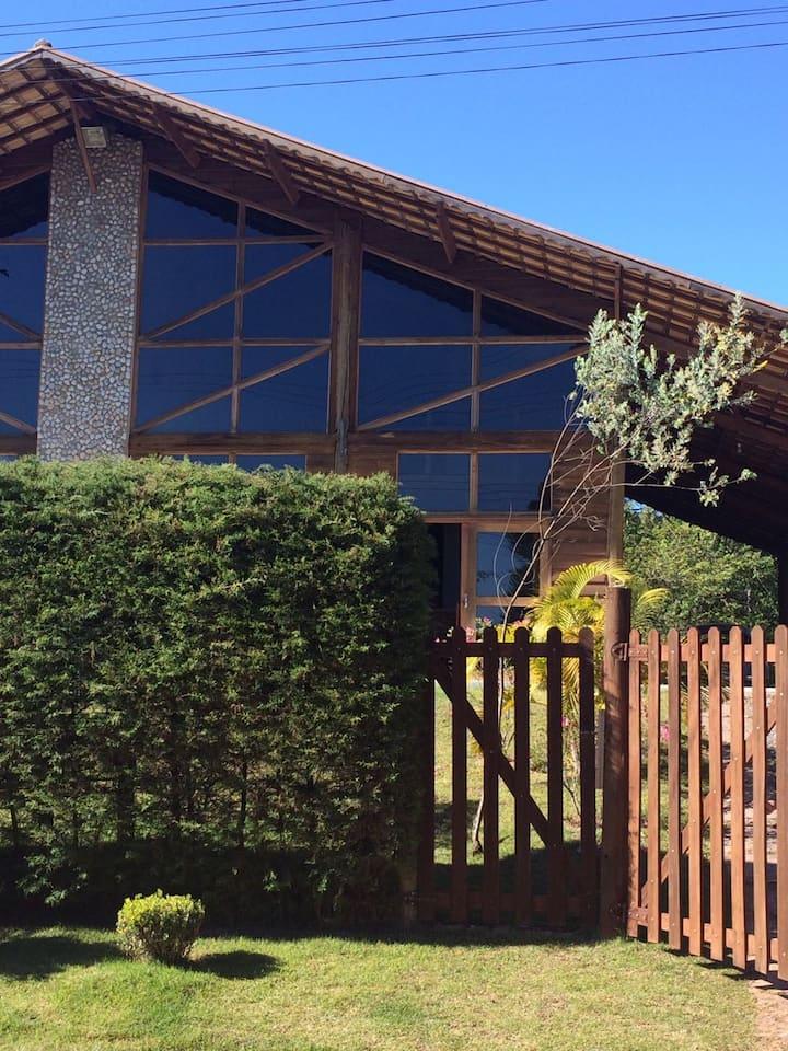 Casa Charmosa na Cidade de Cunha