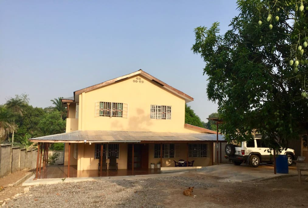 Comfortable and private guesthouse in Makeni, Sierra Leone