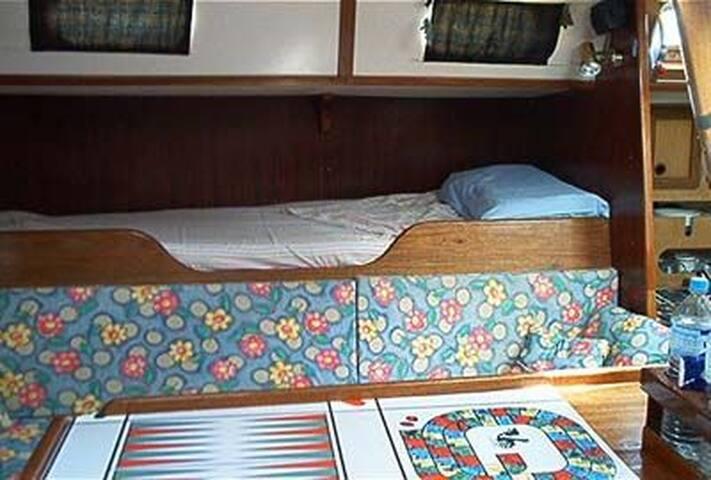 Dormire in barca in Maremma