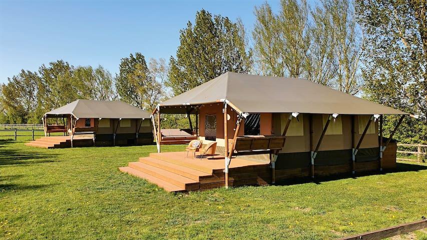 Stunning Safari Lodge With Wild Swimming Lake