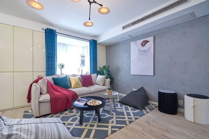 西湖文化广场/紧临地铁口/服装设计师的家 - Hangzhou - Appartamento