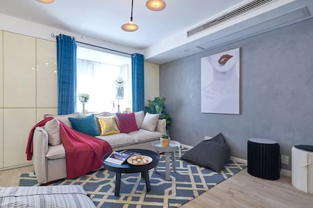 西湖文化广场/紧临地铁口/服装设计师的家 - 杭州 - 公寓