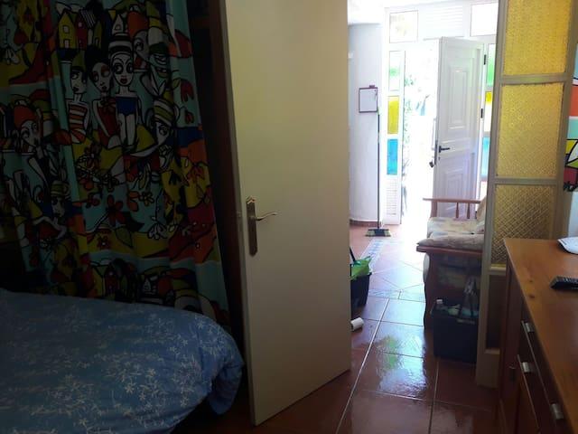foto desde el dormitorio
