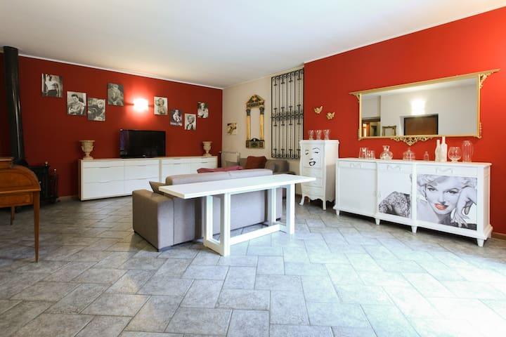 Villa privata con grande giardino esterno - Milan - Villa