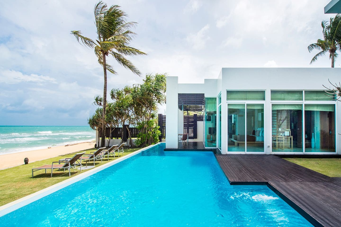 Your ultra luxury beachfront private pool villa in Phuket.