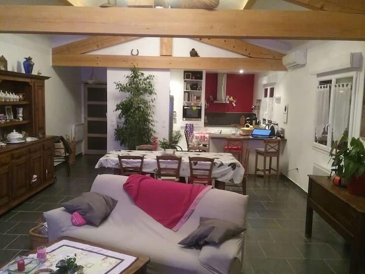 Belle chambre de 14 m2