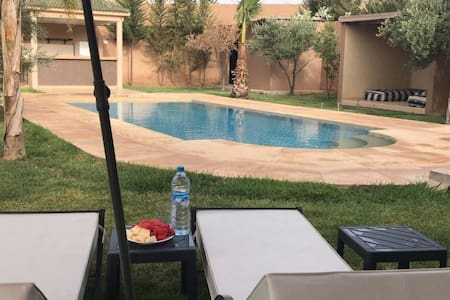 Villa riad privée  avec piscine sans vis à vis