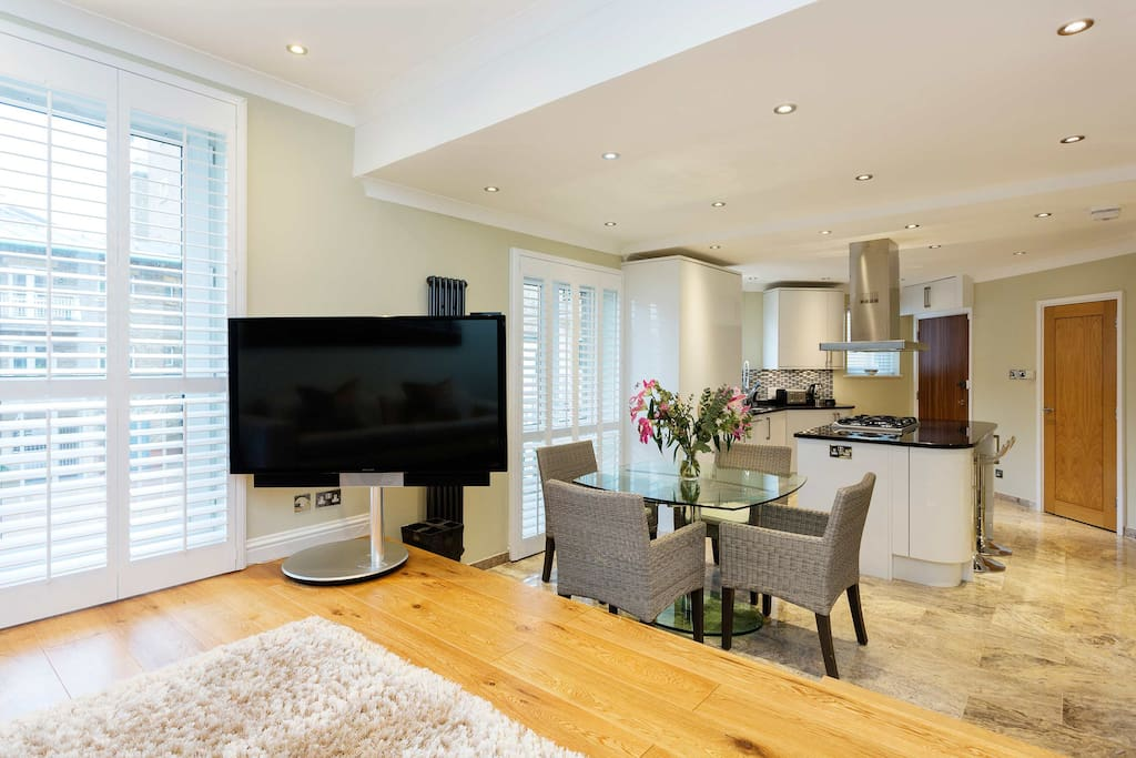 Beautiful 1 Bed Flat On The River  Battersea