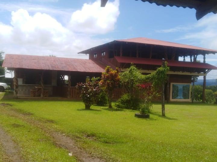 House-Rio Celeste & Tenorio Volcano National Park