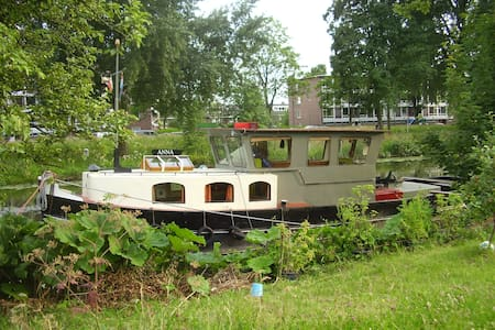 Tugboat the Anna from 1927 - Utrecht - Vene