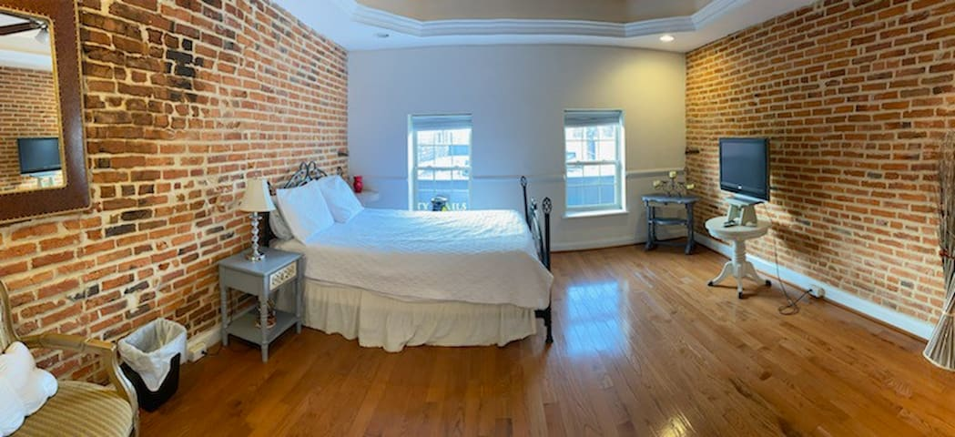 Panoramic of Bedroom