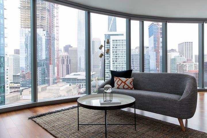 Sonder | Emerald Park | Modern Studio + Terrace