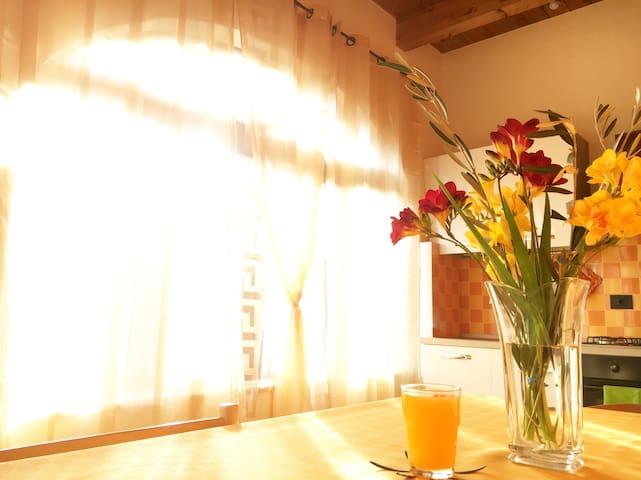 Ospitale casa con vista panoramica - Pontelatone - Wohnung