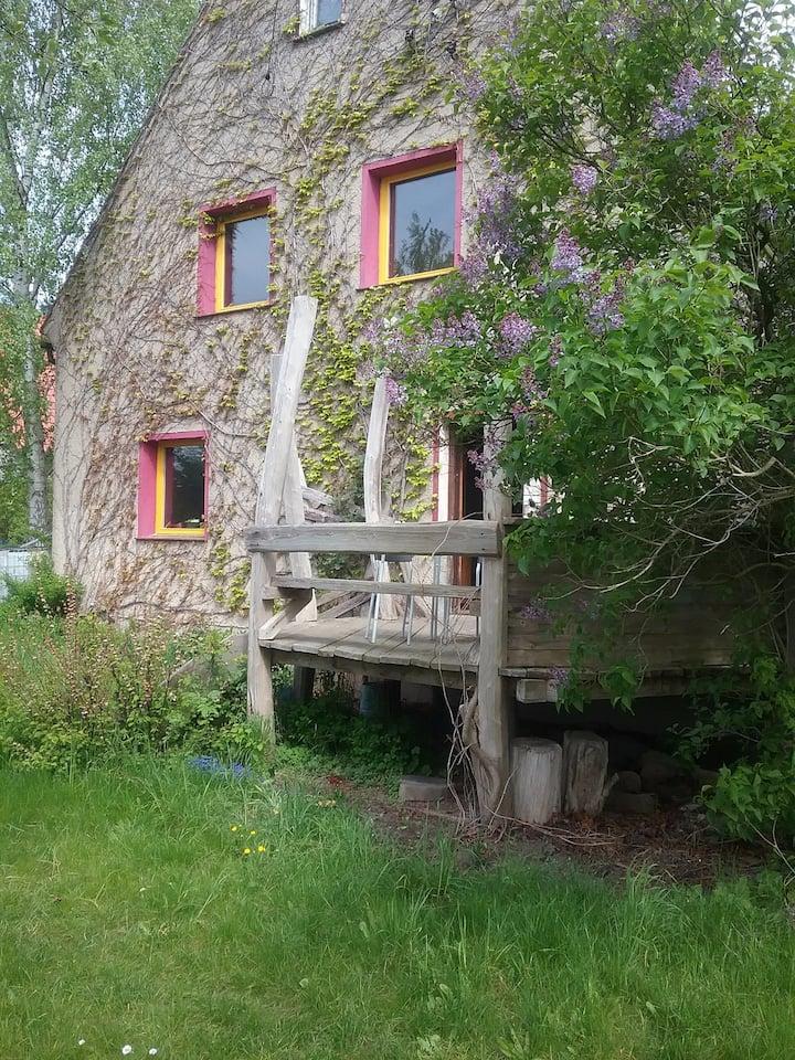 Häuschen mit individuellen Charme