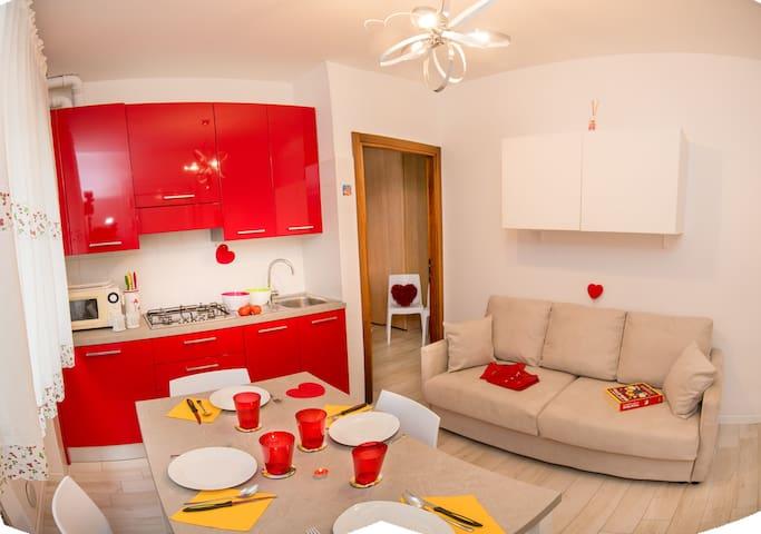 New Apartment 3/4 People in Piazza Brescia