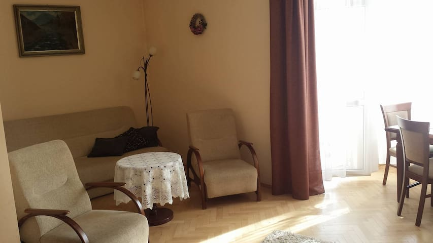 Spacious room with balcony in Oświęcim - Oświęcim