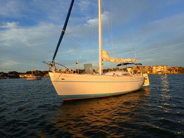 Private Sailboat on Ocracoke Island!!
