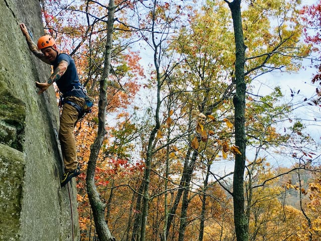 Rock Climbing - Red River Gorge, KY