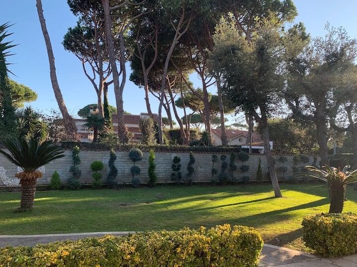 Beautiful villa for parties