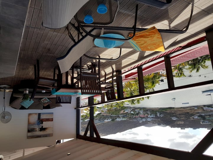 LES BALCONS D'OYSTER POND BUNGALOW N°17 WITH EXTRA LARGE TERRACE UPPER LEVEL
