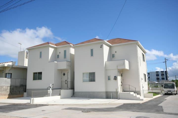 FJ60 Newopen Onna Private Villa/Big House for11ppl